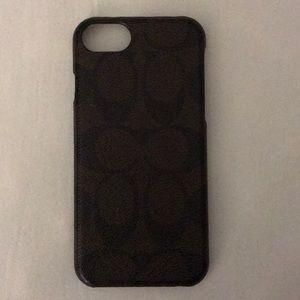 Coach Iphone 6/6s/7 Case